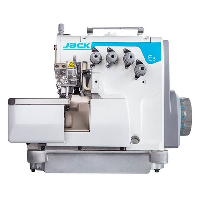 Máquina de Costura Interlock Jack E3-5 Direct Drive 2AG (PÓS VENDA VIRTUAL)