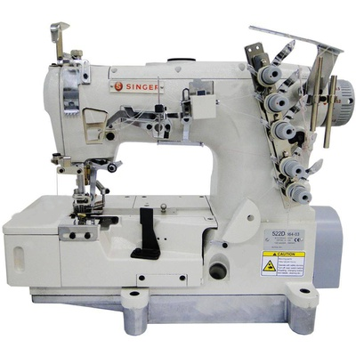 Máquina de Costura Galoneira de Base Plana Aberta Singer 522D-364-03-BR
