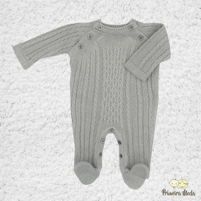 Macacão Thomas Cinza - 1108 - Primeira Moda