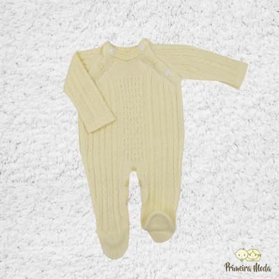 Macacão Thomas Amarelo - 1109 - Primeira Moda