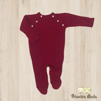 Macacão Thomas Vermelho - 1157 - Primeira Moda