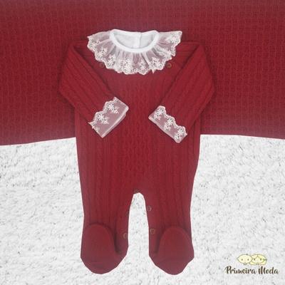 Saída De Maternidade Thomas Vermelho - 1025 - Primeira Moda