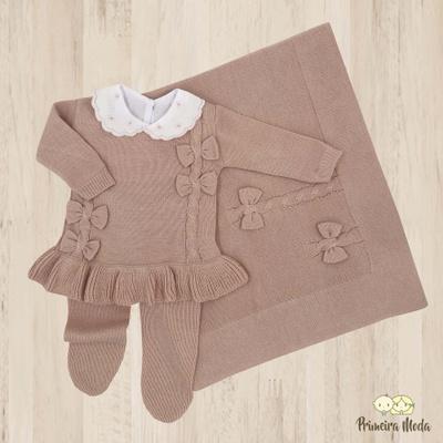Saída De Maternidade Carol - 1035 - Primeira Moda