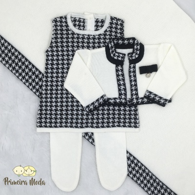 Saída De Maternidade Valentina - 1043 - Primeira Moda