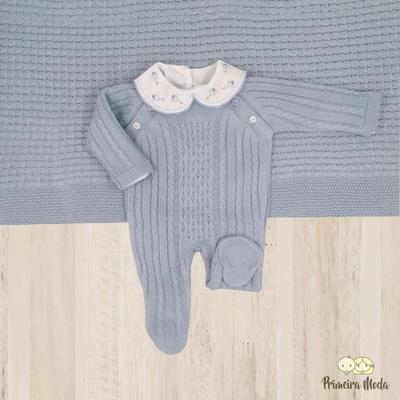 Saída De Maternidade Thomas Azul - 1023 - Primeira Moda