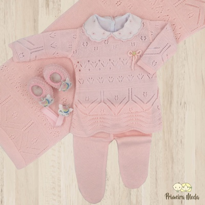 Saída De Maternidade Clarice - 1093 - Primeira Moda