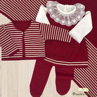 Saída De Maternidade Estela - 1125 - Primeira Moda
