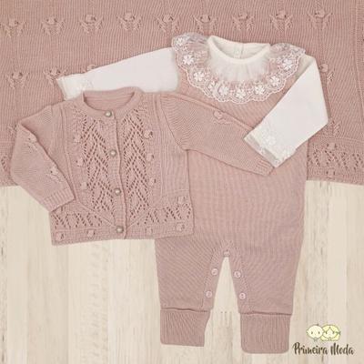 Saída De Maternidade Helena - 1172 - Primeira Moda