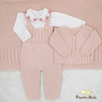 Saída De Maternidade Duda - 1237 - Primeira Moda