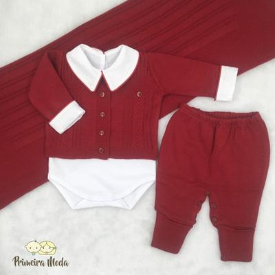 Saída De Maternidade Theo - 1213 - Primeira Moda
