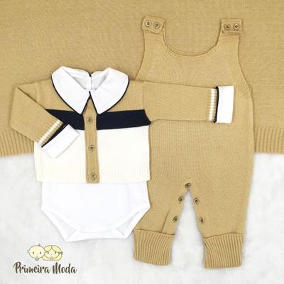 Saída De Maternidade José Amarelo - 1208 - Primeira Moda