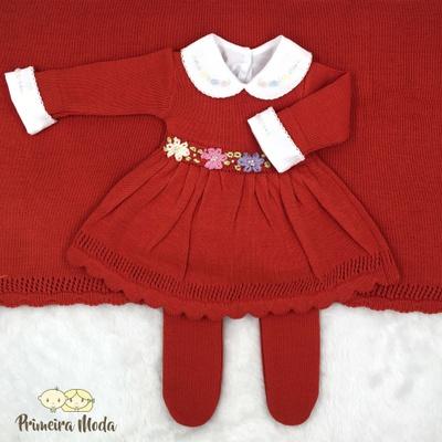 Saída de Maternidade Maria Laranja - 1405 - Primeira Moda