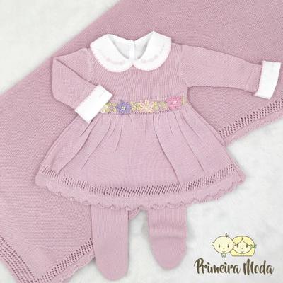 Saída de Maternidade Maria Rosa - 1407 - Primeira Moda