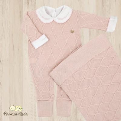 Saída De Maternidade Luana Rosa - 1402 - Primeira Moda