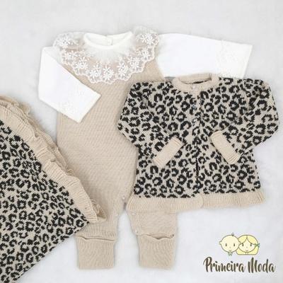 Saída De Maternidade Rebeca - 5136 - Primeira Moda