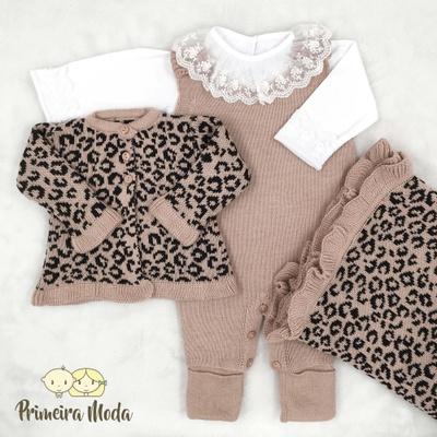 Saída De Maternidade Rebeca Rosa - 1387 - Primeira Moda