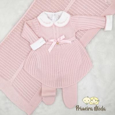 Saída De Maternidade Liz Rosa - 1389 - Primeira Moda