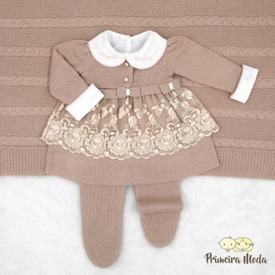 Saída De Maternidade Raika Rosê - 1164 - Primeira Moda