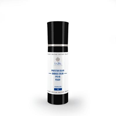 Protetor Solar Biobase Color Fps 45 - COR PEACH