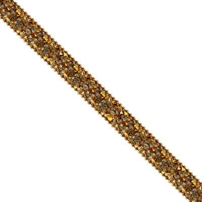 Cordão Infinity Mini Rivoli Com Corrente de Bolinha - Lct