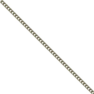 Corrente De Elo 7mm Alumínio - Banho Off White