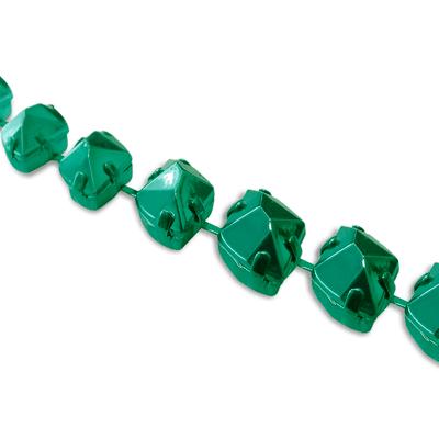 Corrente Dali Metalizada 10x10mm - Verde Escuro
