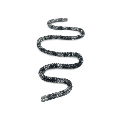 Tira Infinity Onça - Cristal, 40cm.