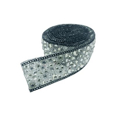 Tira de Strass Spot C/ Corrente - Cristal
