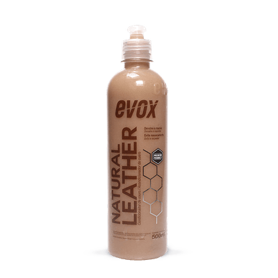 Hidratante De Couro Natural Leather 500ml Evox