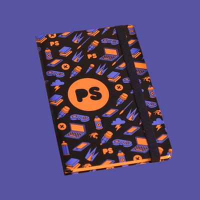 Sketch Book PS Black - sketch-ps-preto - Shop Pixel Show