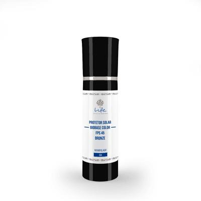 Protetor Solar Biobase Color Fps 45 - COR BRONZE