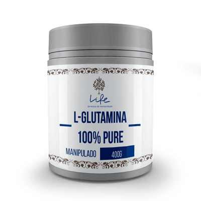 L-Glutamina 400g