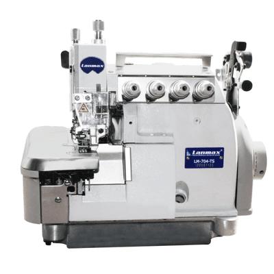 Máquina de Costura Interlock Bitola Larga com Transporte Superior Lanmax LM-705L-TS
