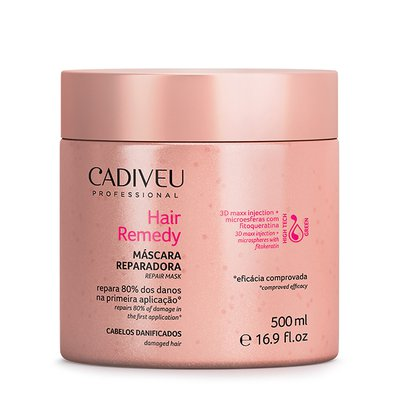 Máscara Cadiveu Hair Remedy 500g