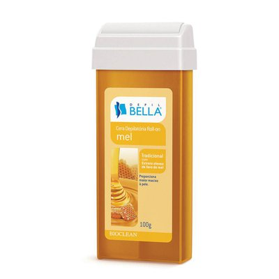 Cera Depil Bella Roll-On Mel 100g