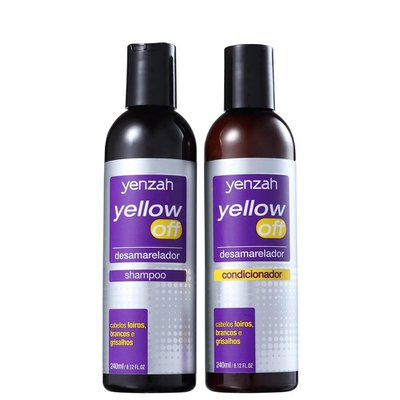 Kit Yenzah Yellow Off Shampoo+Condicionador 240ml