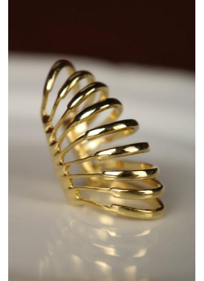 Piercing No Banho de Ouro 18K - PIN102G - Dillu Jóias