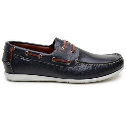 Sapato Casual Masculino Sider CNS 19551 Marinho - CNS