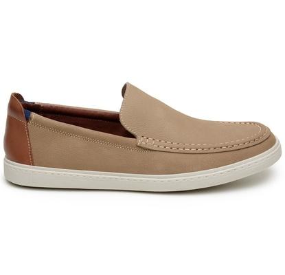 Sapato Casual Masculino Slip-on CNS 20001 Areia - CNS