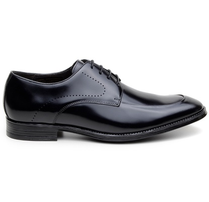 Sapato Social Masculino Derby CNS NPL 008 Preto - CNS