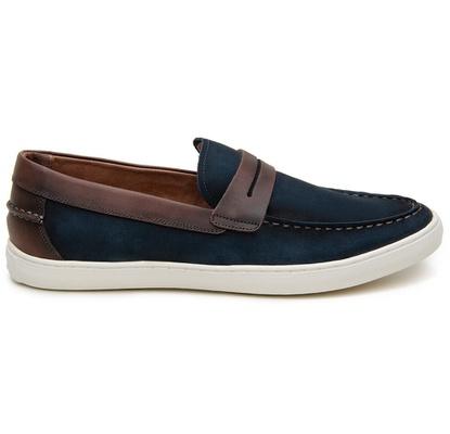 Sapato Casual Masculino Slip-on CNS STR 295 Azul - CNS