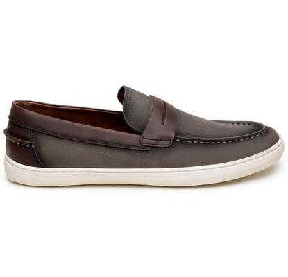Sapato Casual Masculino Slip-on CNS STR 295 Brown - CNS