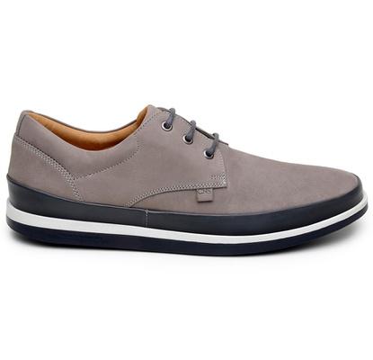 Sapato Casual Masculino Derby CNS Padua 02 Cinza - CNS