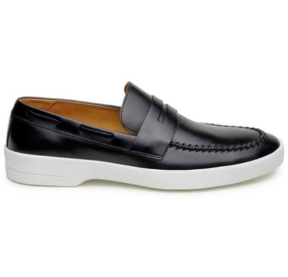 Sapato Casual Masculino Mocassim CNS Prado 01 Pret - CNS