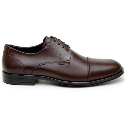 Sapato Social Masculino Derby CNS 71010 Café - CNS