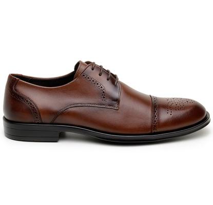 Sapato Social Masculino Derby CNS Brogue 71008 Hav... - CNS
