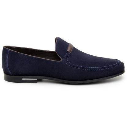 Sapato Casual Masculino Mocassim CNS 1336 Navy Blu - CNS