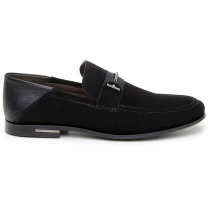 Sapato Casual Masculino Mocassim CNS 1337 Preto - CNS