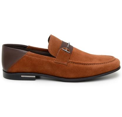 Sapato Casual Masculino Mocassim CNS 1337 Whisky - CNS
