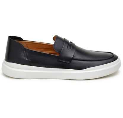 Sapato Casual Masculino Mocassim CNS Gales 06 Pret - CNS